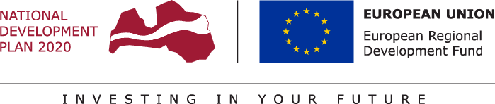 NDP and EU logo