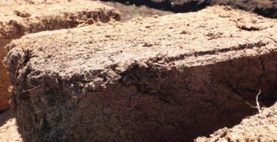 Block peat
